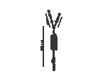 Conector em Y 2 válvula