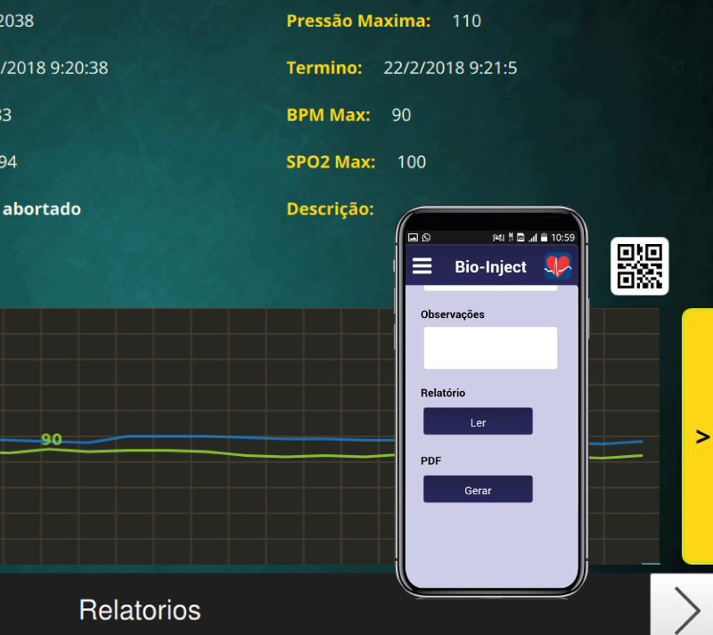 Aplicativo para utilização em equipamentos mobile